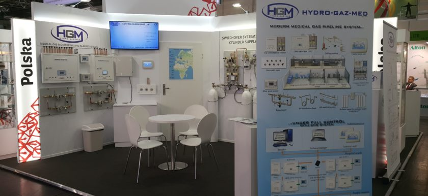 Hydro-Gaz-Med Medica Dusseldorf Medical Exhibition