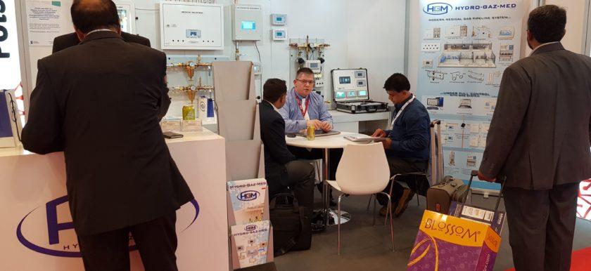 Hydro-Gaz-Med Medical Exhibition Arab Health Dubai UAE