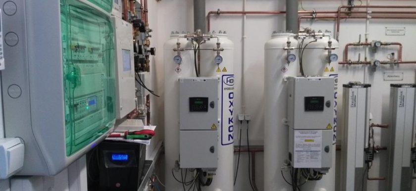 Generator gazów medycznych - Oxykon-Duo 70