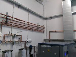 Generator gazów medycznych - rurociągi