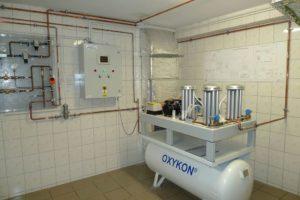 Mały koncentrator tlenu - szpitalny