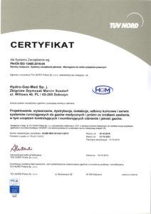 Certyfikat ISO 13485-2016