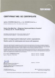 Certyfikat EC 2018 1/3