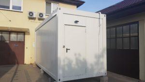 Gotowy kontener - generator gazów medycznych