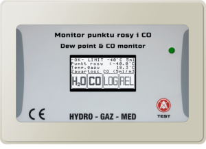 Monitor punktu rosy i CO