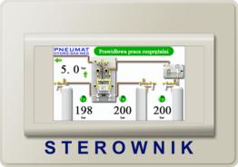 Hydro Gaz Med PNEUMAT Switchover Cylinder Supply Controler Alarm Unit