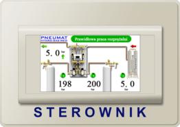 Hydro Gaz Med Pneumat 3 Moduł Sterownik Kontroler Sygnalizator Rozprężalnia butlowa Rezerwa