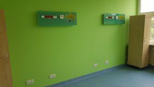 Sala łóżkowa - punkty poboru gazów medycznych