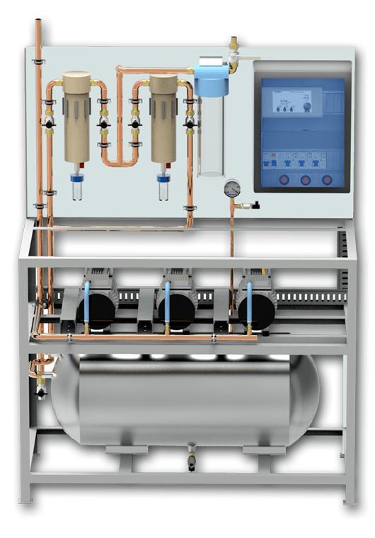 Agregat próżni Hydro Gaz Med Próżnia Vacuum Pompa
