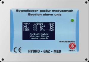 Sygnalizator zdalny Hydro Gaz Med