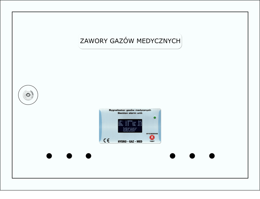 Skrzynka zaworowo-informacyjna SZI Hydro Gaz Med