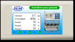 Agregat próżni Hydro Gaz Med Próżnia Vacuum Pompa Sterownik