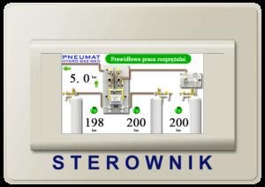 Hydro Gaz Med Pneumat I Moduł Sterownik Kontroler Sygnalizator Rozprężalnia butlowa Rezerwa