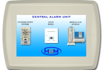 Central alarm unit monitoring BMS