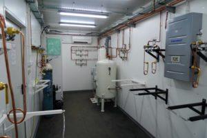 Kontenerowy system koncentratorów tlenu