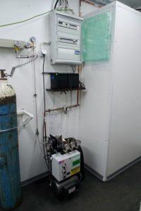 System koncentratorów tlenu