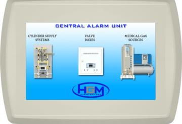 Central alarm unit - BMS